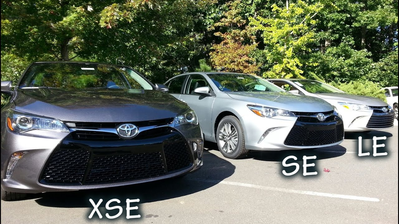 comparing 2015 camry models how to pick your trim level youtube. Black Bedroom Furniture Sets. Home Design Ideas