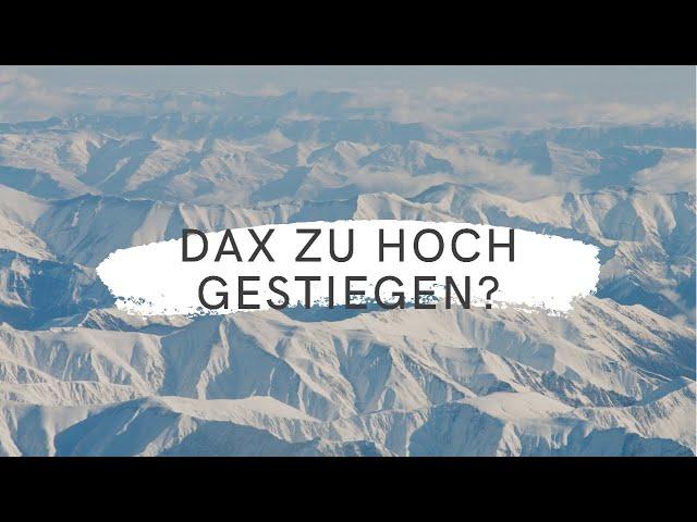 DAX-Morgenanalyse für Mittwoch den 27.10.2021 nach dem starken Ausbruch aus der Konsolidierungszone