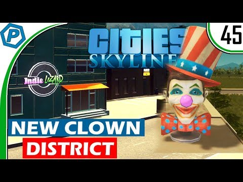Cities Skylines | New Clown District | Natural Disasters | Deepford | #45