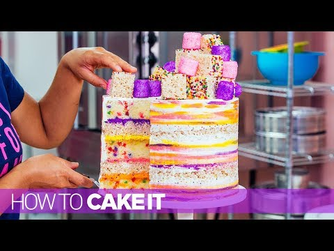 Super Fun and Colorful Cakes! |  Compilation | How to Cake It Step by Step