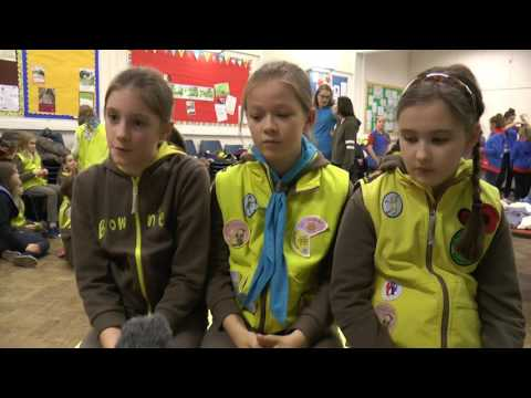 Girl Guides create Comfort Bags for patients who find themselves in hospital unexpectedly