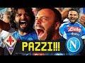 PAZZI!!! FIORENTINA 3-4 NAPOLI | LIVE REACTION NAPOLETANI HD