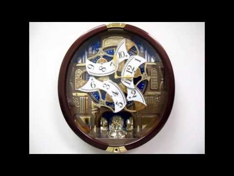 Seiko Claudette Melodies In Motion Wall Clock Qxm531brh