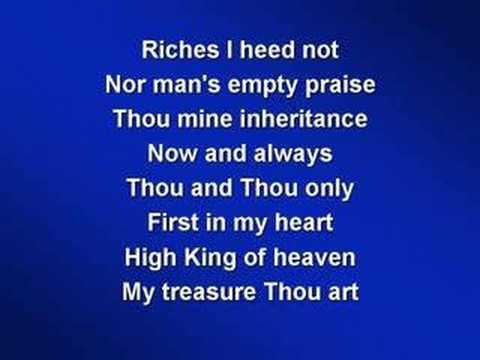 Be Thou My Vision (worship video w/ lyrics) mp3