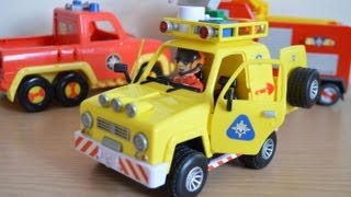 fireman sam tom thomas mountain rescue 4x4 jeep sounds lights toy review