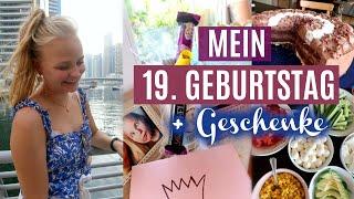 MEIN 19. GEBURTSTAG VLOG + Vorbereitung +Geschenke // Miss Aliana