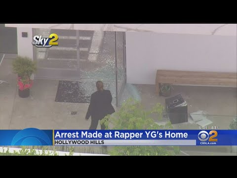 One Arrested, Several Detained After Deputies Raid Hollywood Hills Home Of Rapper YG Mp3