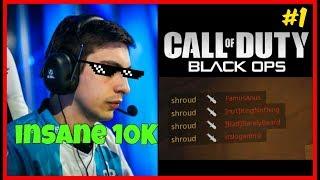 PUBG God Shroud Gets INSANE Gamewinning Play in BO4 Black Ops 4 Streamer Moments 1