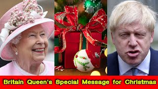 Britain Queen's Special Message for Christmas