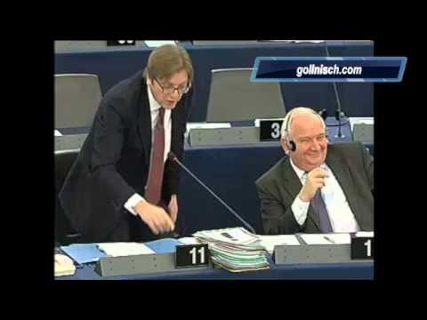 """Gollnisch à Verhofstadt """"Et vous osez parler de démocratie !"""""""