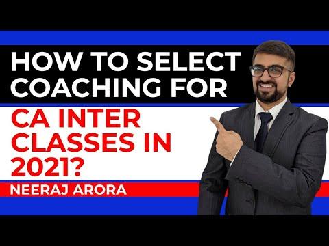 CA INTERMEDIATE COACHING | FROM WHERE | CA INTER CLASSES