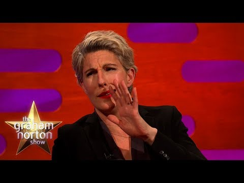 Bono Kissed Tamsin Greig's Pregnant Belly!   The Graham Norton Show
