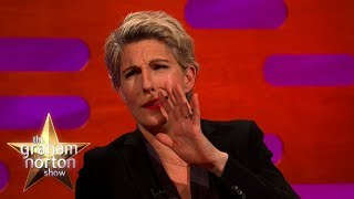 Bono Kissed Tamsin Greig's Pregnant Belly! | The Graham Norton Show