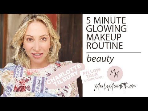 5 minute Glowing Makeup with Charlotte Tilbury's Pillow Talk (& more favorites!)