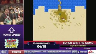 Super Win The Game by GamerDomey in 12:01 - SGDQ2017 - Part 111