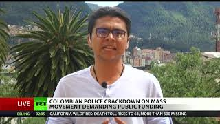 US Support Enables Colombia's War on Student Activists