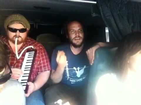 Bruce Channel - Hey! Baby - Cover by Nicki Bluhm and The Gramblers - Van Session 2