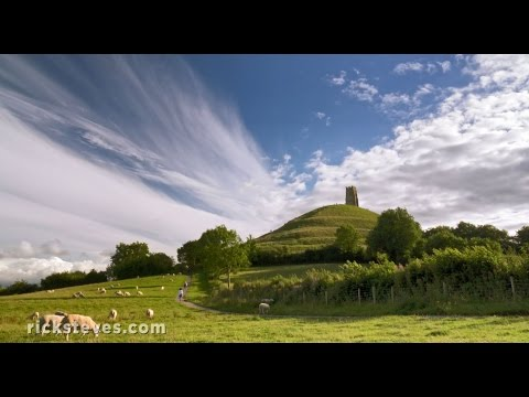 Glastonbury, England: Tor and Abbey