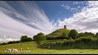 Glastonbury, England: Tor and Abbey