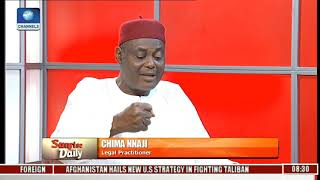"""Your Handlers Have Made You Controversial"" Nnaji Tells Pres Buhari Pt.3