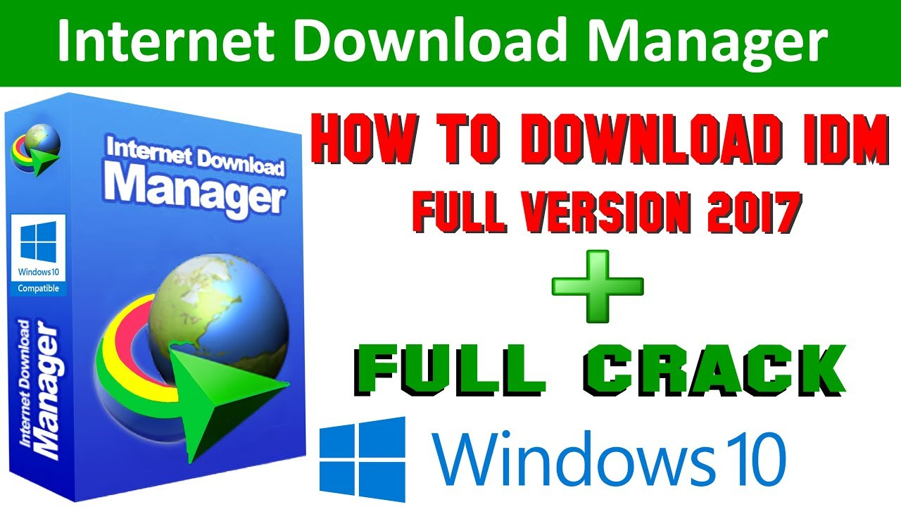 download idm cracked version for windows 10