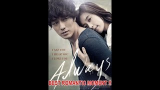 Video BEST Romantic moment ALWAYS korean movie best romantic movie !! download MP3, 3GP, MP4, WEBM, AVI, FLV November 2019