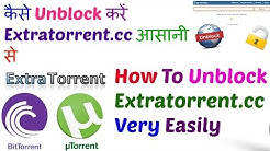 How to unblock extratorrent.cc very easily