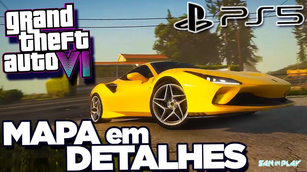 GTA 6: NOVOS RUMORES e MAPA em DETALHES! - O Futuro do GTA Online e Muito mais!