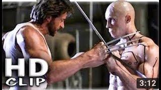 Deadpool vs Logan Fight Scene Movie Clip  by Entertainment BW.