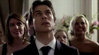 TVD 1x19 Damon dances with Elena at the Founder's Day Gala (Miss Mystic Falls)