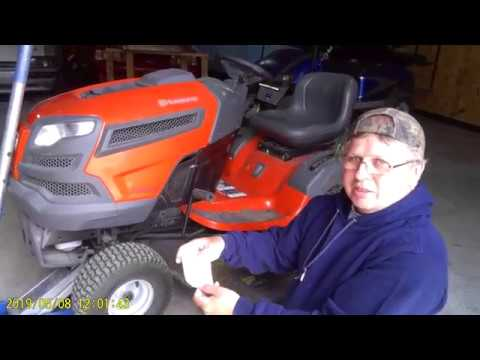 Husqvarna Yth24v54 How To Remove And Replace The Front Wheel E Clip Ring Clip Youtube