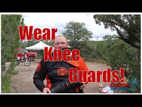 Do You Wear Knee Guards?   Fix Your Dirt Bike.com