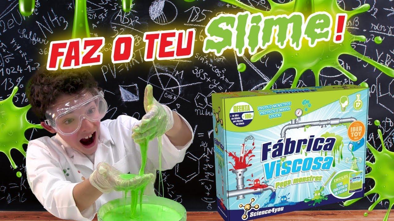 Faz o teu Slime com a Fábrica Viscosa! - Science4you - YouTube a862f6b7f1b