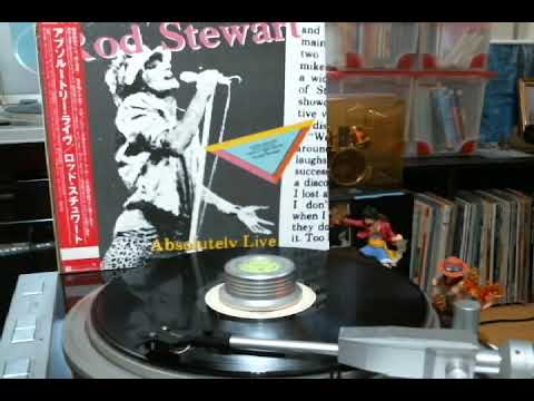 Rod Stewart  C1 「Young Turks」 from Absolutely Live
