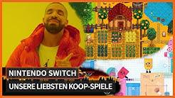 Koop-Spiele auf der Switch - Das sind unsere Favoriten!