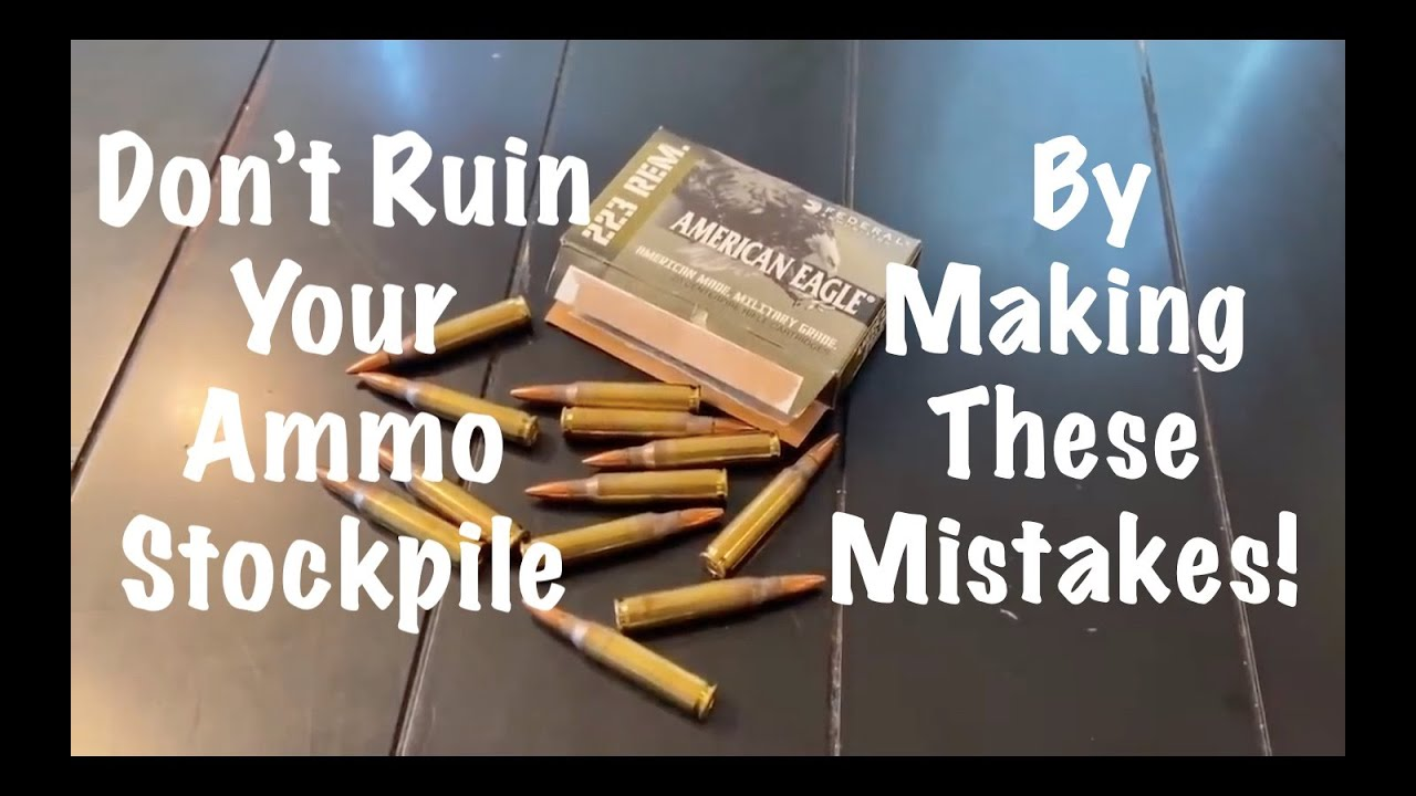 Ammo Shortage Update : Don't Ruin Your Ammo Stockpile By Making These Mistakes!
