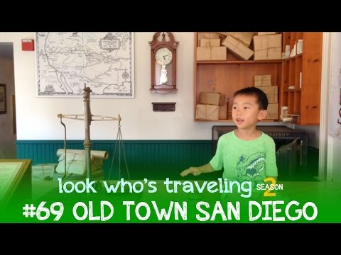 Metrolink Destination Old Town San Diego, California: Look Who's Traveling