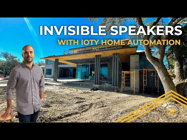 Invisible Speakers with Ioty Home Automation