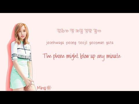 TWICE (트와이스) CHEER UP Lyrics (Color Coded Han|Rom|Eng) | by Soshi Lyrics