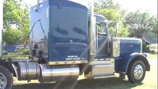 Loading 389 Peterbilt Grain Truck With Milo
