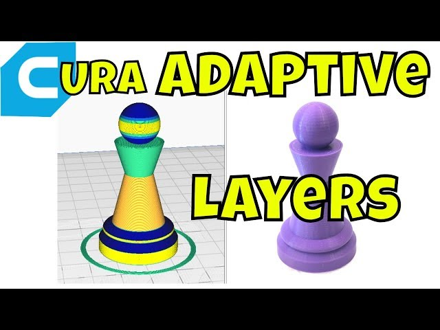 Cura Slicer - Adaptive Layers Settings and Results