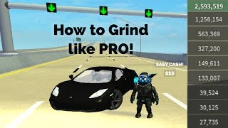 Roblox Ultimate Driving - Westover Islands - How to Grind like a PRO!