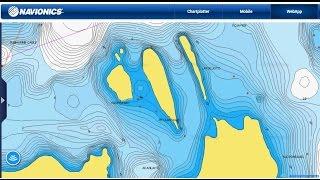 Навигация с картами Navionics. Карты глубин.