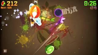 Lets Play - Fruit Ninja (Part 13 - Bamboo Shoot!)