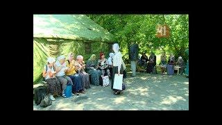 Верующие разбили палаточный лагерь в центре Екатеринбурга