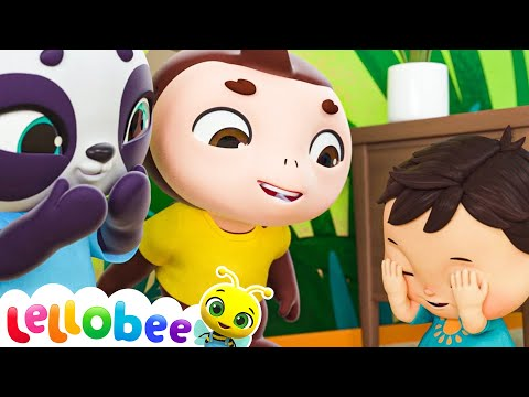 Peek a Boo Song | Brand New Nursery Rhyme & Kids Song - ABCs and 123s | Little Baby Bum