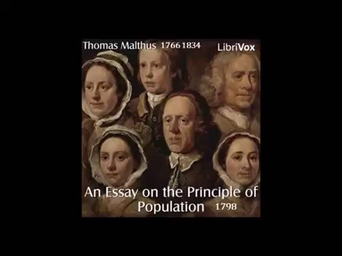 An Essay on the Principle of Population, Malthus 1798