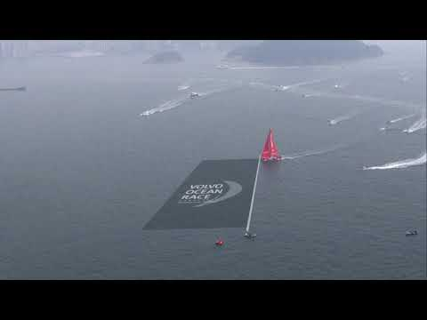 VOR 2017-18. Around Hong Kong Island Race.