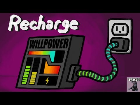How To Recharge Your Willpower