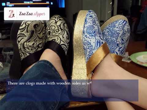 Zsa Zsa Slipper's women's clogs are going trendy in 2018!